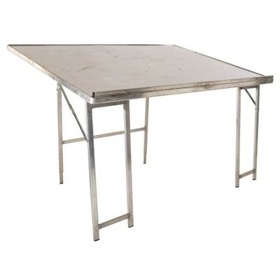 TABLE INCLINEE ALU PIEDS RENFOR 200X80CM (1)